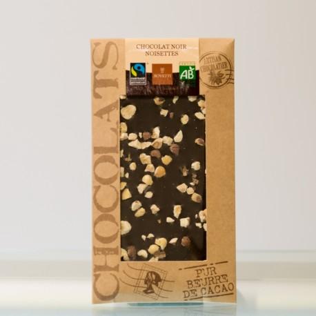 Tablette Chocolat Noir Noisettes