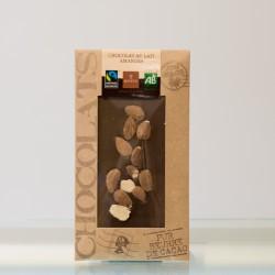 Tablette Chocolat Lait Amande