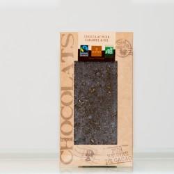 Tablette Chocolat Noir Caramel & Sel
